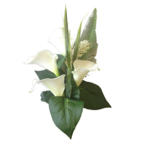 Conmemorativas flores de seda