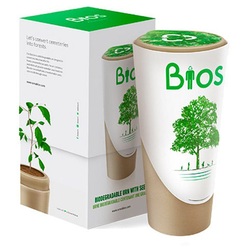 Urnas biodegradable