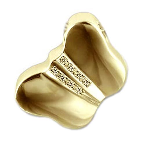 En forma de animal oro